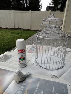 Holy Craft: spray paint makeovers