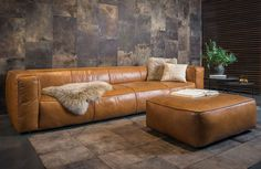 Leather 4 seater