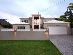 Modern House Fence Design Rendered brick modern house