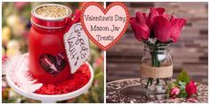 Valentine's Day Mason Jar Treats - Fillmore Container Mason Jar Crafts, Mason Jars, Canning Jars, Valentine's Day Diy, Love Cake, Love Valentines, Some Fun, Cake Pops, Container