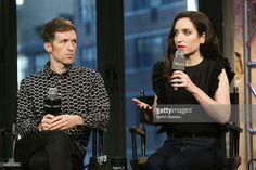 Filmmaker Daryl Wein and actress Zoe Lister-Jones attend AOL BUILD Series: 'Consumed' at AOL Studios on November 20, 2015 in New York City.