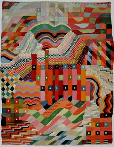 Tapestry-design-by-Gunta-Stolzl-produced-by-the-Bauhaus-in-1926.