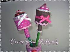 Image result for Sweet Cupcake goma eva