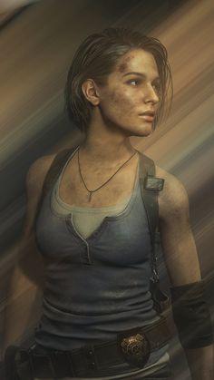 Resident Evil 3 Remake, Resident Evil Game, Space Dandy, Evil Games, Jill Valentine, Game Design, X Men, Harley Quinn, 2d