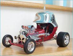 1969 Tom Daniels Red Baron model