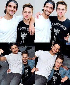 Tyler Posey & Dylan Sprayberry
