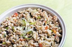 Israeli couscous & tuna salad