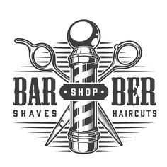 Barbershop vector logo designs and illustrations on www.dgimstudio.com. 100% vector, editable text. Ready to be printed. #barbershop #vector #vectorillustration #barber #logo #logodesign Barber Logo, Barber Shop Decor, Barbershop Design, Overlays Picsart, Salon Interior Design, Vector Logo Design, Typographic Logo, Monochrome Fashion, School Fashion