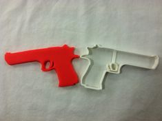 Pistol Desert Eagle Cookie Cutter - CHOOSE Your OWN SIZE - Fast Shipping!