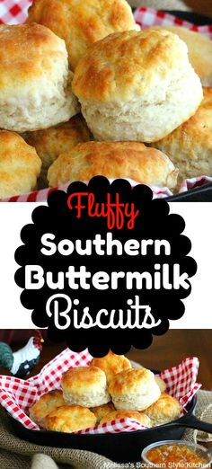 Fluffy Southern Buttermilk Biscuits -also added cheese and jalapeño Southern Buttermilk Biscuits, Buttermilk Recipes, Southern Homemade Biscuits, Recipe For Buttermilk Biscuits, Buttermilk Bisquits, Easy Biscuits, Fluffy Biscuits, Homemade Biscuits Recipe, Best Biscuit Recipe