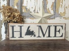 Newfoundland Home // Newfoundland silhouette // province sign Diy Wood Projects, Vinyl Projects, Wood Crafts, Diy Crafts, Newfoundland And Labrador, Newfoundland Canada, Making Signs On Wood, Wood Burning Patterns, Metal Artwork