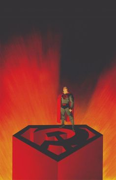 The use of grey and black in the art of Red Son Superman (alternate reality where Cal's infant space pod didn't crash in Smallville U. , but in Небольшая деревня U.) depict a darker interpretation of the character and themes. Superman Red Son, Superman Artwork, Superman Man Of Steel, Lar Gand, Big Barda, Comic Art Community, New Gods, Read Comics, Communism