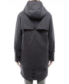 DR.DENIM/ドクターデニム - ELI (エリ) パーカコートジャケット Dark Grey (ダーク・グレー) 119