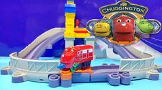 Chuggington Trains Action Playset Featuring StackTrack Includes Repair W...