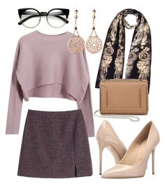 """#48"" by gecegoker on Polyvore featuring moda, Massimo Matteo, Chicnova Fashion, Louise Coleman, Carven, 3.1 Phillip Lim, Links of London, Fall, outfit ve soft"