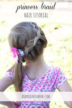 Princess Braid Hair Tutorial