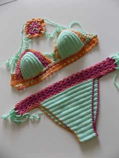 Crochet bikiniCrochet Bikini SetBrazilian by cheerfulboutique