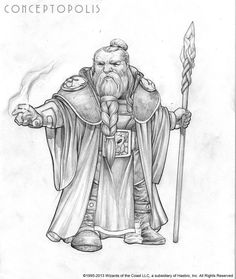 Shield Dwarf Male E Pencil by ~Conceptopolis on deviantART