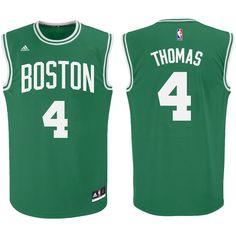 adidas Isaiah Thomas Boston Celtics Kelly Green Replica Basketball Jersey 1cdec2d3d
