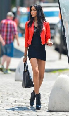 Chanel Iman looking fab