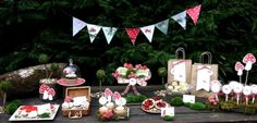Hostess with the Mostess® - Red Riding Hood Woodland Party