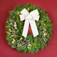 fresh christmas wreath ideas christmas wreaths christmas decorations christmas home holiday decor - Fresh Christmas Greenery