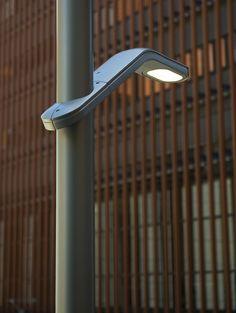 """Torres lighting"" by Landscapeforms, Collection of of LED street lights"