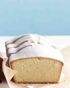 Citrus-Glazed Pound Cake Recipe