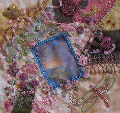 Welcome to my crazy cq'd world!  I chat about current projects both in my embroidery business  and my leisure cq'd world!  Mostly  I just muse about my passion for embroidery and crazy quilting a mile  high in the sky, throwing in tidbits  on my fur kids or outragoues weather  annomolies and machine embroidery  projects on the home front!