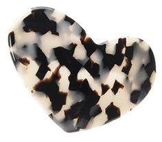 France Luxe Large Heart Barrette  Ivory Tokyo -- Check out this great product.(This is an Amazon affiliate link and I receive a commission for the sales)