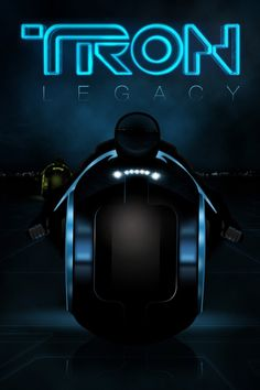 Tron Legacy ~ Light Cycle by Unknown Artist