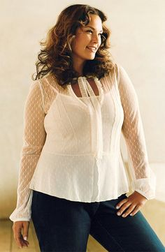 Plus size model Barbara Brickner