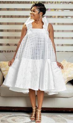 Short African Dresses, Latest African Fashion Dresses, African Print Dresses, Dressy Outfits, Chic Outfits, Ankara Maxi Dress, African Fashion Designers, Professional Dresses, Little White Dresses