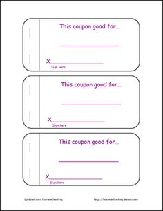 Free Mothers Day Coupon Book Printable mom gift for mother @A Time ...