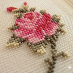 Pixelhobby - square, single hole, perler beads that look like cross stitch when . Beaded Embroidery, Cross Stitch Embroidery, Hand Embroidery, Cross Stitch Patterns, Perler Beads, Fuse Beads, Beading Patterns, Embroidery Patterns, Quilt Patterns