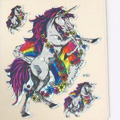 1980/'s Rubber Unicorn