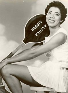 The first African-American tennis player of world stature; broke the color-line in virtually every tournament she entered; enjoyed a two-year peak in 1957 and 1958 when she won both Wimbledon and U.S. National.