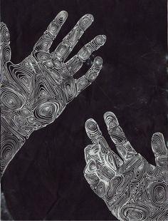 art trippy Cool design hands black psychedelic space dark not mine collage Psychedelic art trippy art Gravure Illustration, Illustration Art, Psychedelic Art, Art Sketches, Art Drawings, Drawing Art, A Level Art, Gcse Art, Ap Art