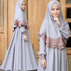 Muslim Wedding Dresses, Muslim Dress, Hijab Dress, Dress Wedding, Wedding Bride, Kids Maxi Dresses, Dresses Kids Girl, Muslim Fashion, Hijab Fashion