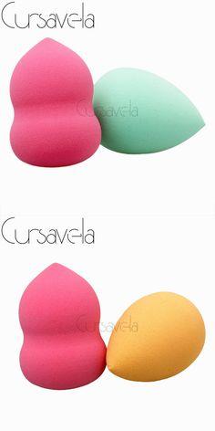 Cursavela New Soft Pro Multifunction Ladies' Beauty Facial Foundation Powder Puff Sponge Blending Makeup Tool Free Shipping