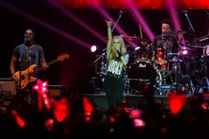 """Canadian singer Avril Lavigne rocked Hong Kong on February She kicked off the show with her latest song """"Hello Kitty"""" Avril Lavigne, My Music, Hong Kong, Hello Kitty, Photo Galleries, February 13, Singer, China, Good Things"""