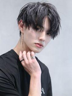 Bts Hairstyle, Tomboy Hairstyles, Asian Men Hairstyle, Cool Hairstyles, Korean Haircut Men, Asian Haircut, Cut My Hair, Hair Cuts, Square Face Hairstyles