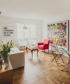 Horacio Pérez, director de teatro Color Pop, Colour, House Tours, Contemporary, Interior Design, Director, Home Decor, Blog, Minimalist