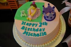 Cute princess cake