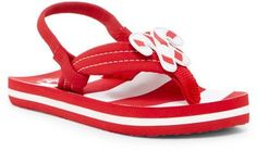 Reef Little Ahi Scents Candy Cane Flip-Flop (Baby, Toddler, & Little Kid)