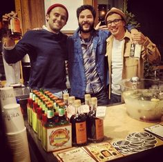 The boys at the Poler grand opening in Brooklyn!