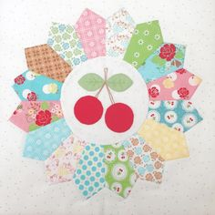 Bee In My Bonnet: Sweetie Pie Sew Along - Week Two - Appliqué!!