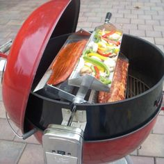 Rib-O-Lator Rotating Barbecue Rotisserie - Fits Onto Any Grill Barbeque Sides, Bbq Ribs, Barbecue Recipes, Grilling Recipes, Barbecue Sauce, Asado Grill, Cooking With Charcoal, Rotisserie Grill, Organic Cooking