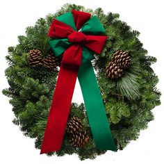 Merry Christmas Wreath.  This wreath and many more found at  http://www.christmasforest.com/wreaths.   For easy fundraising, please go to: http://www.christmasforest.com/fundraising Needing ornaments? Please visit us at: http://www.ornaments.com/