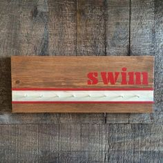 Items similar to Swim Award Ribbon Holder, medal holder, medal display, award display, organizer on Etsy Teen Projects, Diy Craft Projects, Wood Projects, Swim Ribbons, Award Display, Display Ideas, Kids Awards, Teeth Pictures, Ribbon Holders